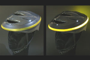 Bicygnal Angel Safety Light Helmet