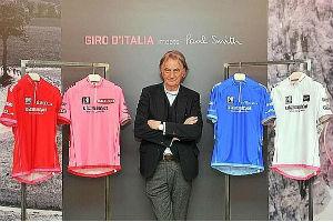 Paul Smith designs Giro d'Italia jerseys
