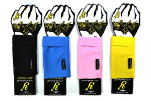 Y-Fumble cycling arm pocket storage solution gels