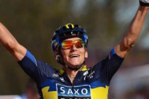 Roman Kreuziger Takes Amstel Gold