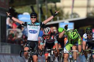 Cavendish Wins Giro d�Italia Opening Stage