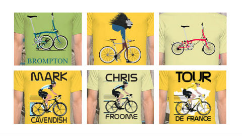 The Beautiful Bicycle Print - Andy Scullion