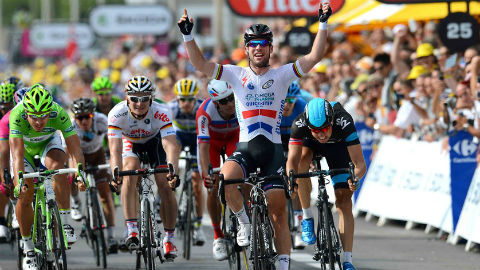 24th Tour Win for Cavendish