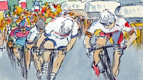 Greig Leach the Art of Cycling