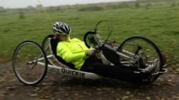Claire Lomas charity bike ride - claireschallenge