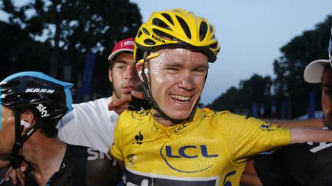 Chris Froome wins Tour de France 2013