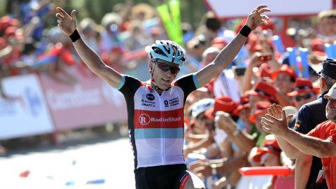 Chris Horner Becomes Oldest Stage Winner